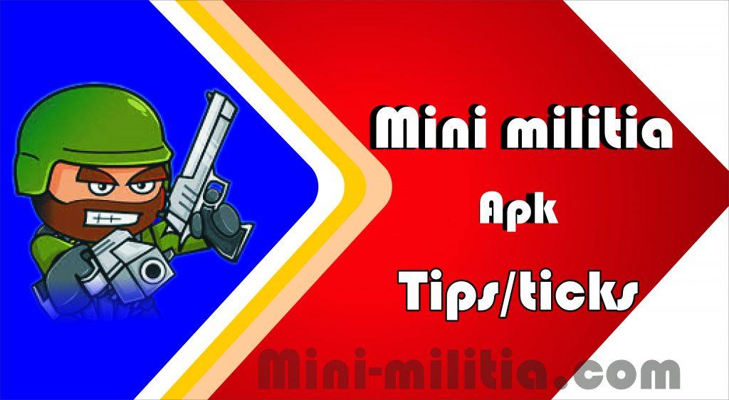 mini militia tips&tricks